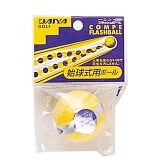 GOLF ダイヤゴルフ DAIYA GOLF フラッシュボール GF-014 イエロー