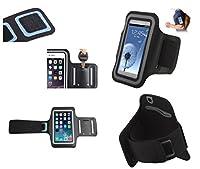 DFV mobile - バックルが付いているスポーツの周りプロフェッショナルカバーネオプレン防水ラップを腕章 => SHARP HYBRID 007SH, THE HYBRID 007SH > 黒