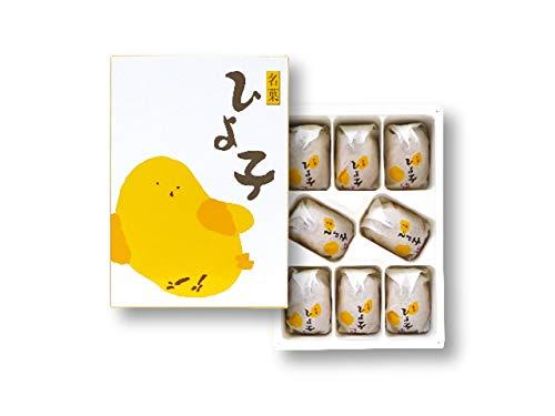 東京ひよこ ひよこ 饅頭 東京おみやげ (8個) 国産もち米あられ1個セット
