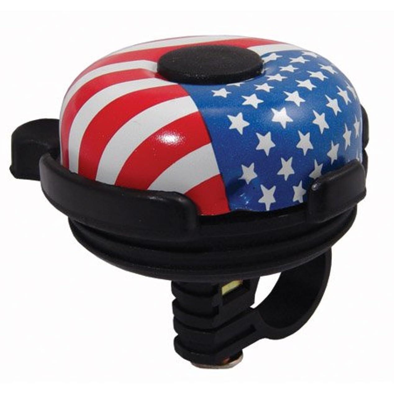 価格囲む雄大なSummit Black Bell W/American Flag by Summit