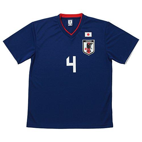 JFA サッカー日本代表 2018年 プレーヤーズTシャツ 本田圭佑 No.4 O-028 XL