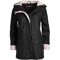 Urban Republic Women's Lightweight Hooded Raincoat Jacket