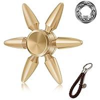 ハンドスピナー Hand Spinner 弾丸型 指スピナー 取り外し可能 高速回転 ボールベアリング  フォーカスおもちゃ ストレス解消 重量感のある 安定感 Fidget Spinner Toy