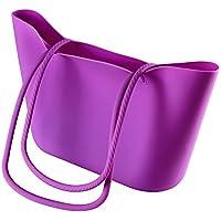 Scrunch Silicone Beach Bag, Purple