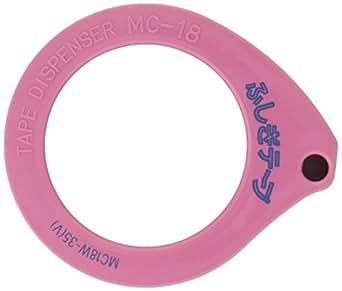 仁礼工業 ふしぎテープ テープ幅18mm 35m巻 ディスペンサー付き MC18W-35V
