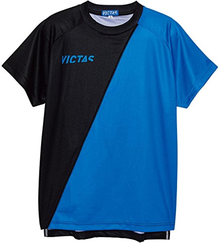 VICTAS(ヴィクタス) 卓球 男女兼用 プラクティスTシャツ 男子日本代表モデル 033452