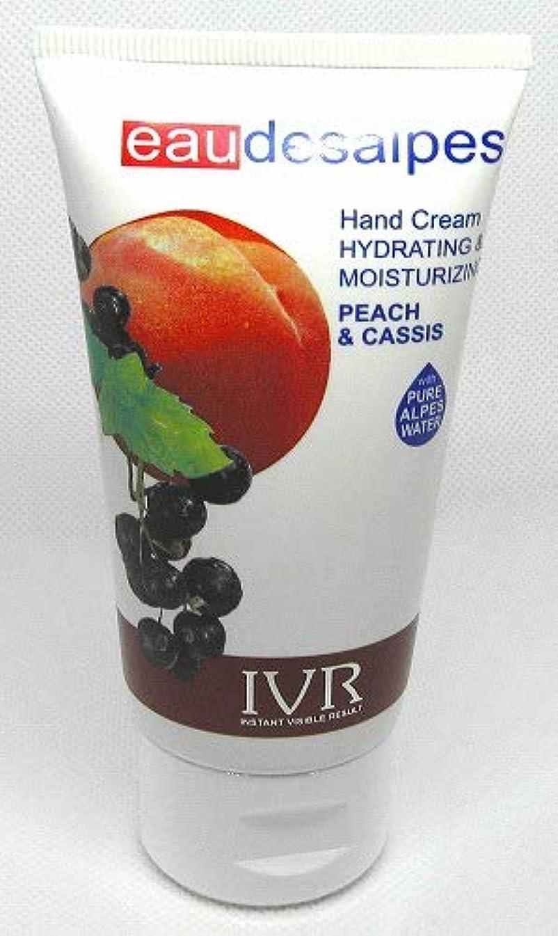 財布窓を洗う紀元前◆【IVR】イタリア発◆アイヴイアール オーデアルプス ハンドクリーム ピーチ&カシス 50ml◆