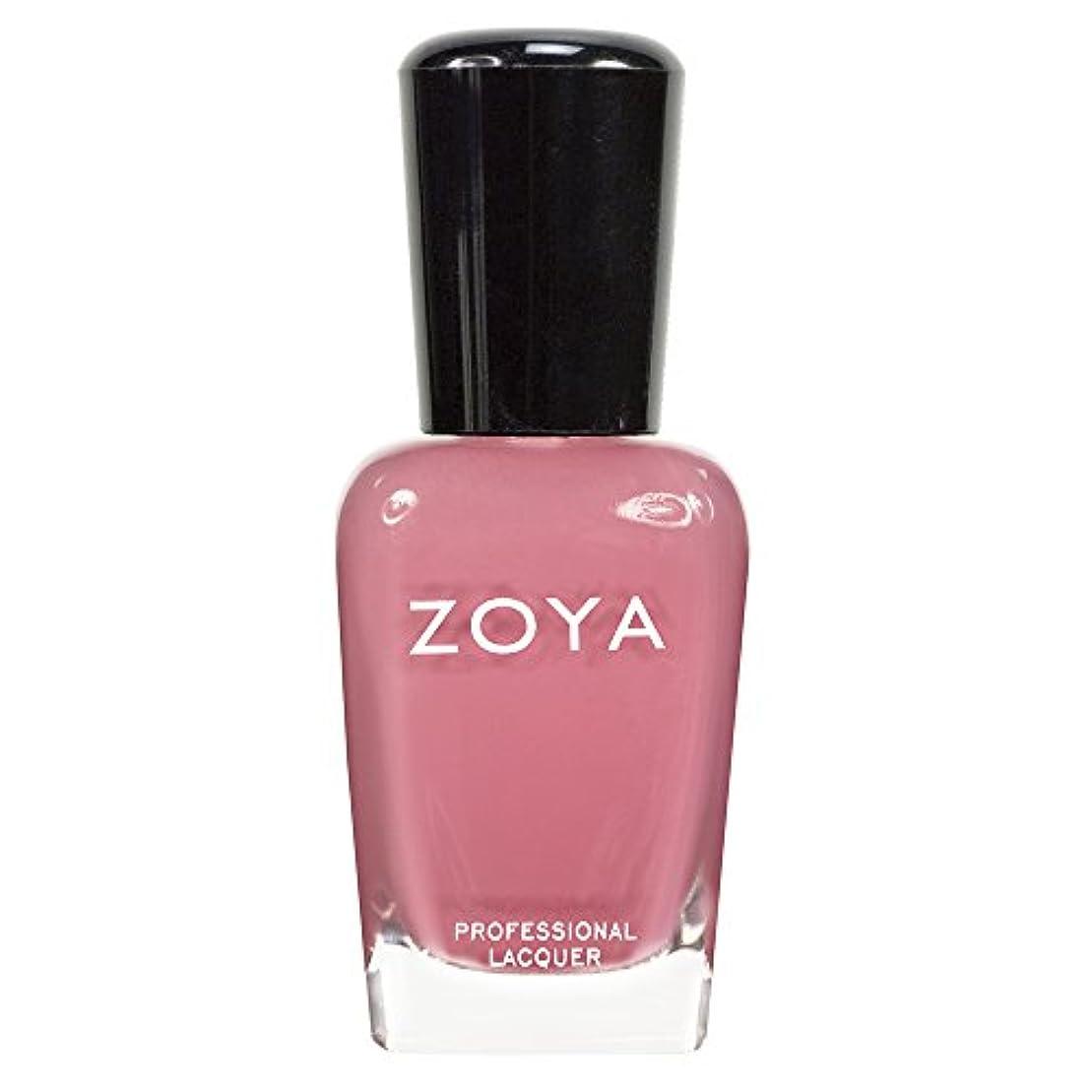 ほうき早く連続したZOYA ゾーヤ ネイルカラーZP436 ZANNA ザンナ  15ml 淡いモーブピンク マット 爪にやさしいネイルラッカーマニキュア