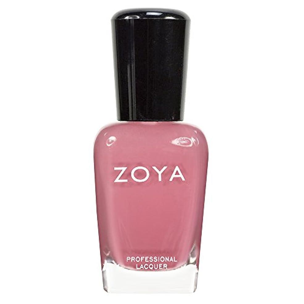 債務者スペードアヒルZOYA ゾーヤ ネイルカラーZP436 ZANNA ザンナ  15ml 淡いモーブピンク マット 爪にやさしいネイルラッカーマニキュア