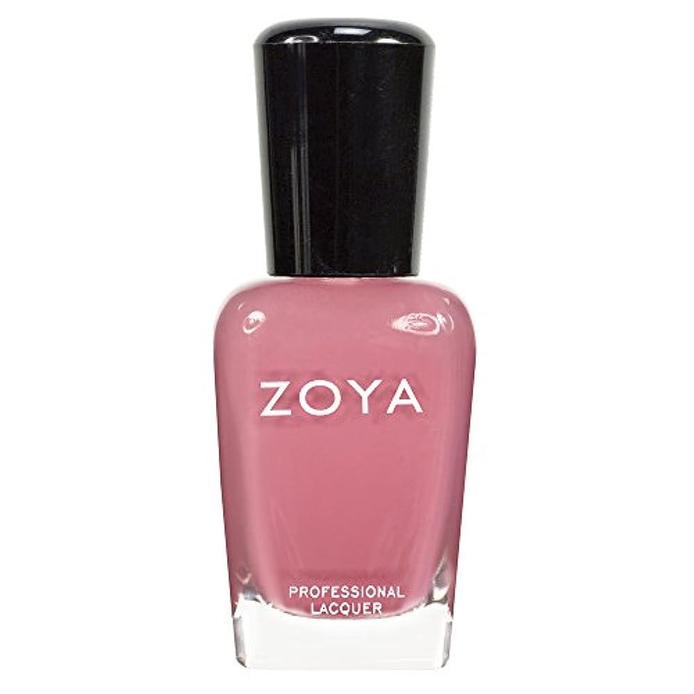 背景サロン相手ZOYA ゾーヤ ネイルカラーZP436 ZANNA ザンナ  15ml 淡いモーブピンク マット 爪にやさしいネイルラッカーマニキュア