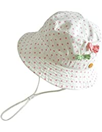 2f6ca55974c99 Amazon.co.jp: ホワイト - 帽子 / ファッション小物: 服&ファッション小物
