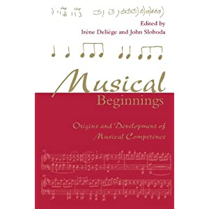 Musical Beginnings: Origins and Development of Musical Competence