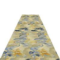 ZEMIN 廊下敷きカーペッ キッチン 入り口 カーペット 洗える マット ノイズ減少、 カスタマイズ可能なサイズ (Color : A, Size : 1.4x4m)