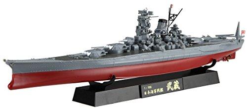 フジミ模型 【Amazon.co.jp限定】 1/700 特EASYシリーズSPOT 日本海軍戦艦 武蔵 フルハルモデル