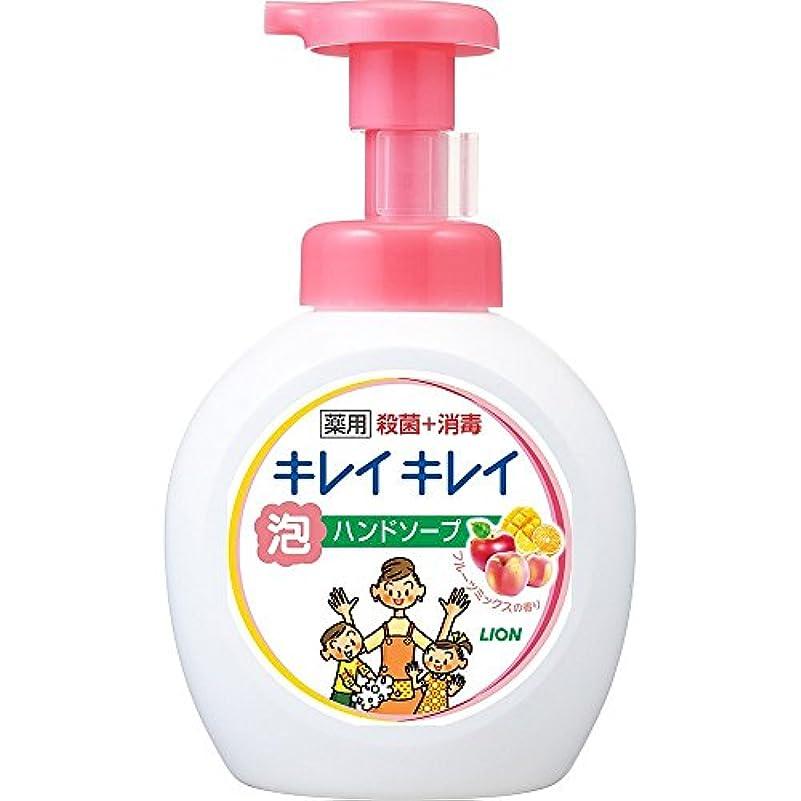 許される想像力豊かなタップキレイキレイ 薬用 泡ハンドソープ フルーツミックスの香り 本体ポンプ 大型サイズ 500ml(医薬部外品)