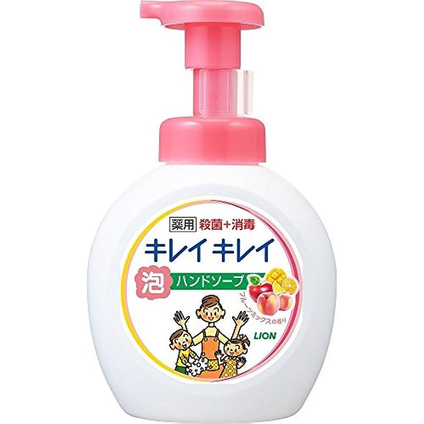 地下鉄分解する思いつくキレイキレイ 薬用 泡ハンドソープ フルーツミックスの香り 本体ポンプ 大型サイズ 500ml(医薬部外品)