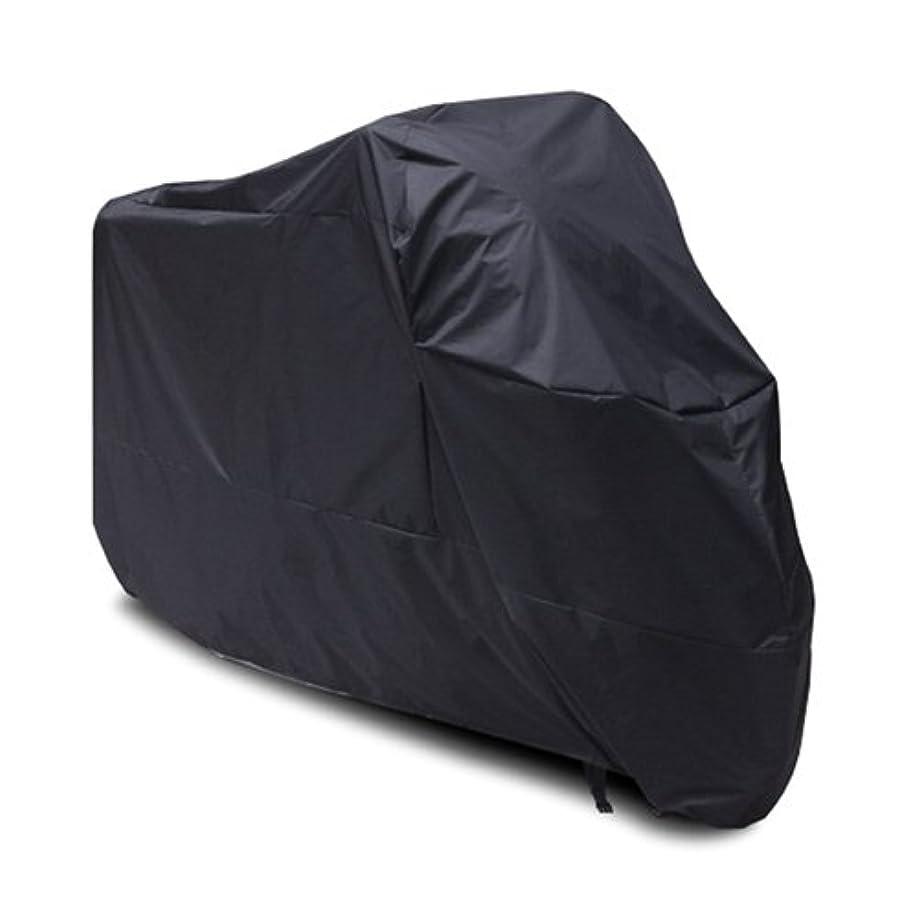 サーキットに行く小包するだろうKawasaki KLR650 KLR 650 バイク用ブラックオートバイカバー UV ダストプロテクター L