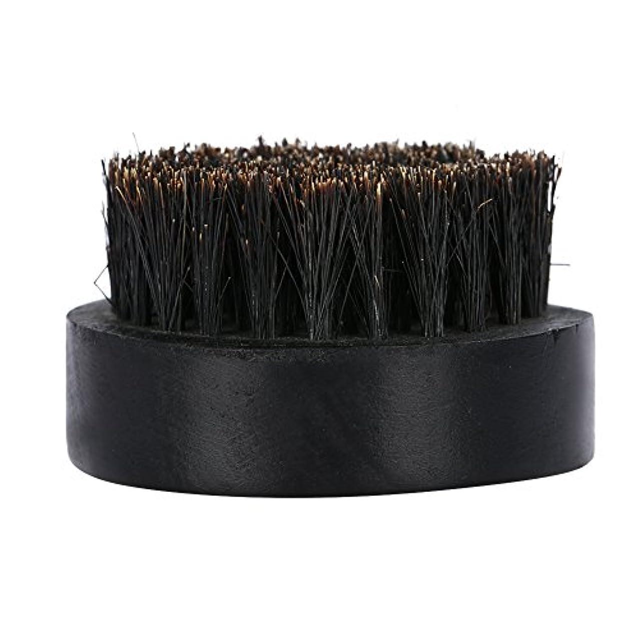 おもてなし消毒する最高Qinlorgo シェービングブラシ フェイシャルケア コンディショニング ヘアブラシ スタイリンググルーミングツール ヘアブラシスタイリンググルーミングツール 髭のメンテナンスに