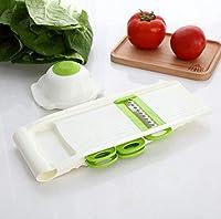 野菜チョッパー、多機能野菜切断機、フルーツスライサー、手動ポテトニンジンおろし金