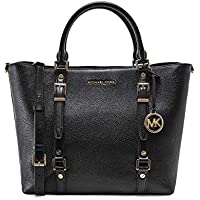 MICHAEL Michael Kors Women's Leather Bedford Legacy Tote Bag Black