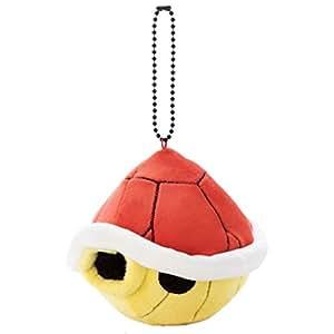 マリオカート Mocchi-Mocchi-Game style ボールチェーンマスコット アカこうら 高さ約8cm
