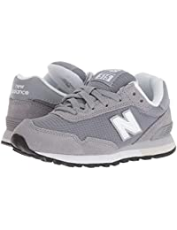 [new balance(ニューバランス)] キッズランニングシューズ??スニーカー?靴 YC515v1 (Little Kid/Big Kid) Grey/White 3.5 Big Kid (22-22.5cm) W