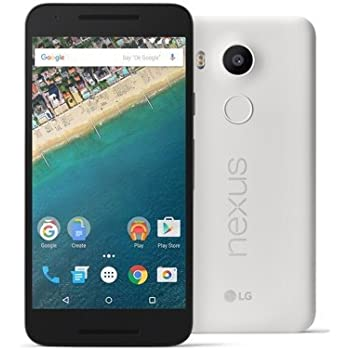 Google Nexus 5X (SIMフリー, 16GB, Quartz White)[並行輸入]