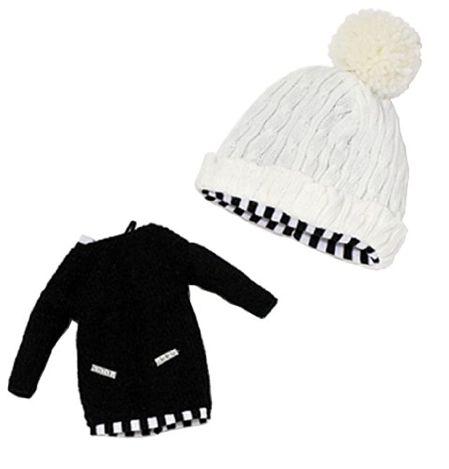 OutFit selection Knit One-piece set black ver. (ニットワンピースセット ブラックバージョン) O-819