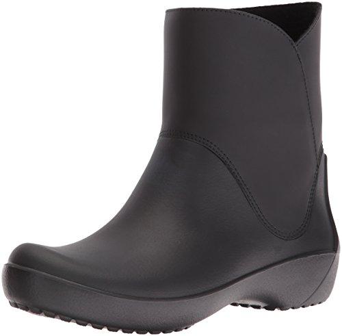 [クロックス] レインフロー ブーティ ウィメン ブーツ 203417 Black W9(25.0cm)