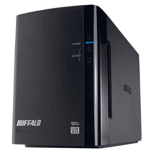 BUFFALO Drive Station-Pro 外付HDD RAID1対応 4TB  HD-WH4TU3/R1