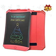 LCD handwriting tablet 10 inch children's graffiti drawing small blackboard light energy draft writing board electronic drawing board Erasable Portable for kids Learning Birthday Gifts Artboard