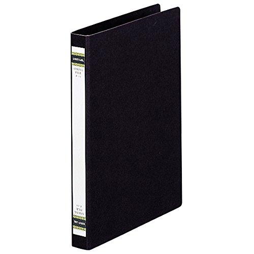 リヒトラブ スプリングファイル A4S 2穴 藍 F11