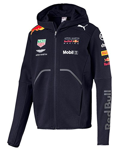 【 Red Bull 】 RBR レッドブル F1 Racing Team オフィシャル レプリカ フーディー 2018 (L身幅58cm着丈70cm)