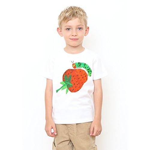 (グラニフ)graniph コラボレーションキッズTシャツ / ビッグストロベリー ( エリックカール ) ( ホワイト ) 110