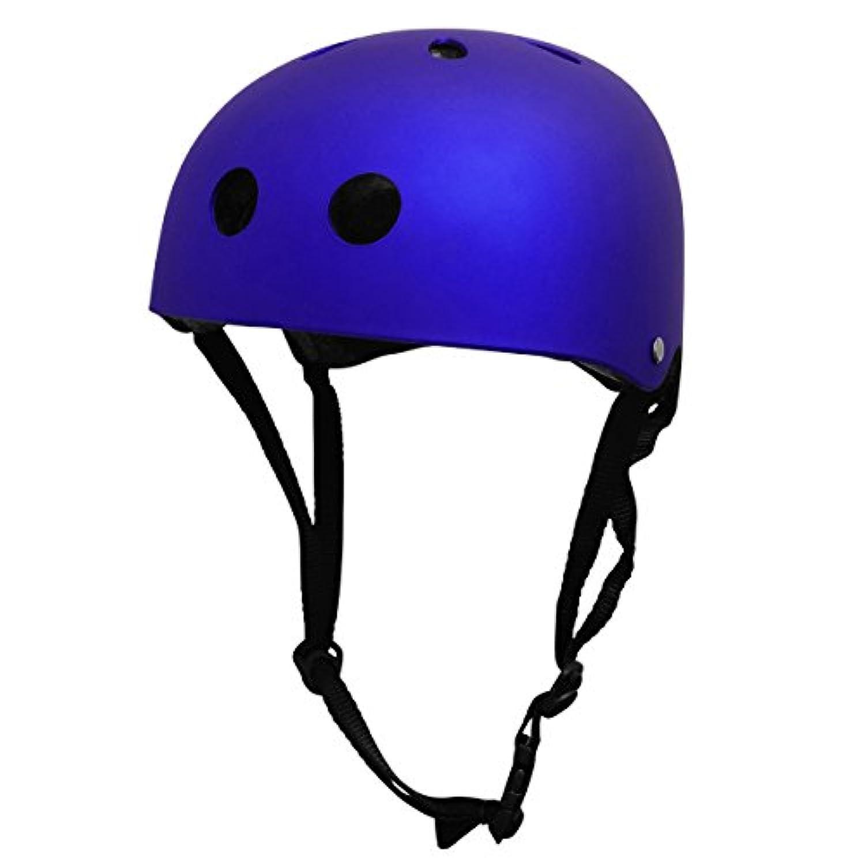 WhiteSeek スポーツ ヘルメット 子供用 / 大人用 スケボー ジュニアヘルメット 自転車 キッズ こども用 ローラーブレード ブレイブボード 子供乗せ自転車