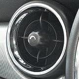 BMW MINI(ミニ) R55/R56/R57 【CLOS】クロス センターエアダクトクロームリングセット