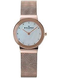[スカーゲン]SKAGEN 腕時計 basic steel ladys 358SRRD ピンクゴールド レディース [正規輸入品]