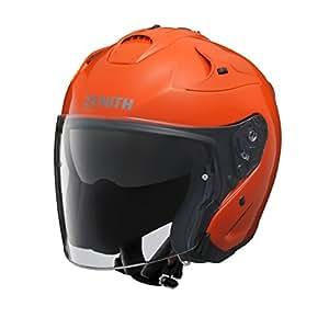 ヤマハ(YAMAHA) バイクヘルメット ジェット YJ-17 ZENITH-P 90791-2325L ダークオレンジ L (頭囲 59cm~60cm未満)