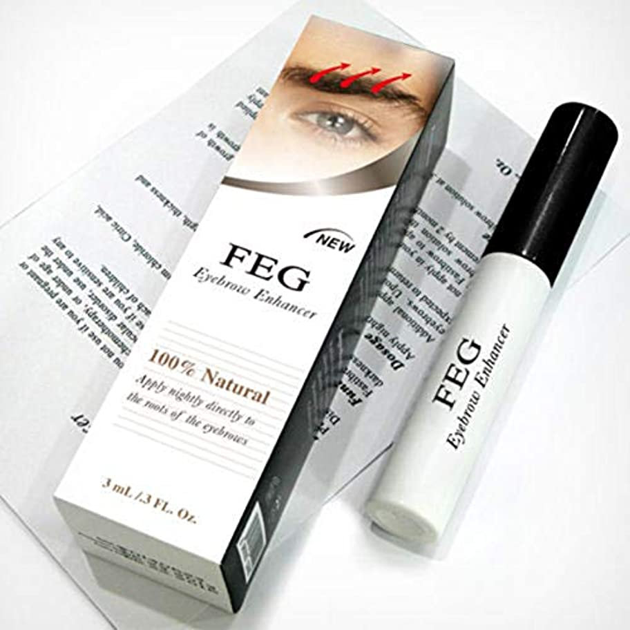 知覚する調べる手のひらRabugoo 3g健康な光沢のある眉毛の成長血清のエッセンス無毒の安全な成分眉毛のエンハンサー液体