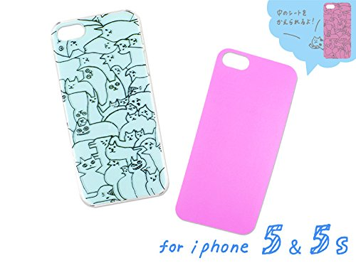 iPhone5/5s AIUEO iPhone Case NEKO PUZZLE CR