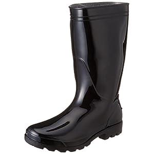 [キタ] kita レインブーツ PVC軽半長靴 KR-980 ブラック(ブラック/30.0)