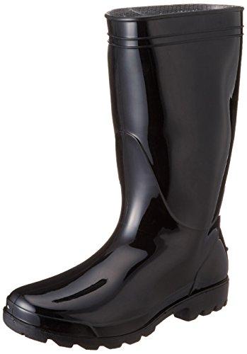 [キタ] kita レインブーツ PVC軽半長靴 KR-980 ブラック(ブラック/26.0)
