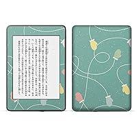 igsticker kindle paperwhite 第4世代 専用スキンシール キンドル ペーパーホワイト タブレット 電子書籍 裏表2枚セット カバー 保護 フィルム ステッカー 050095