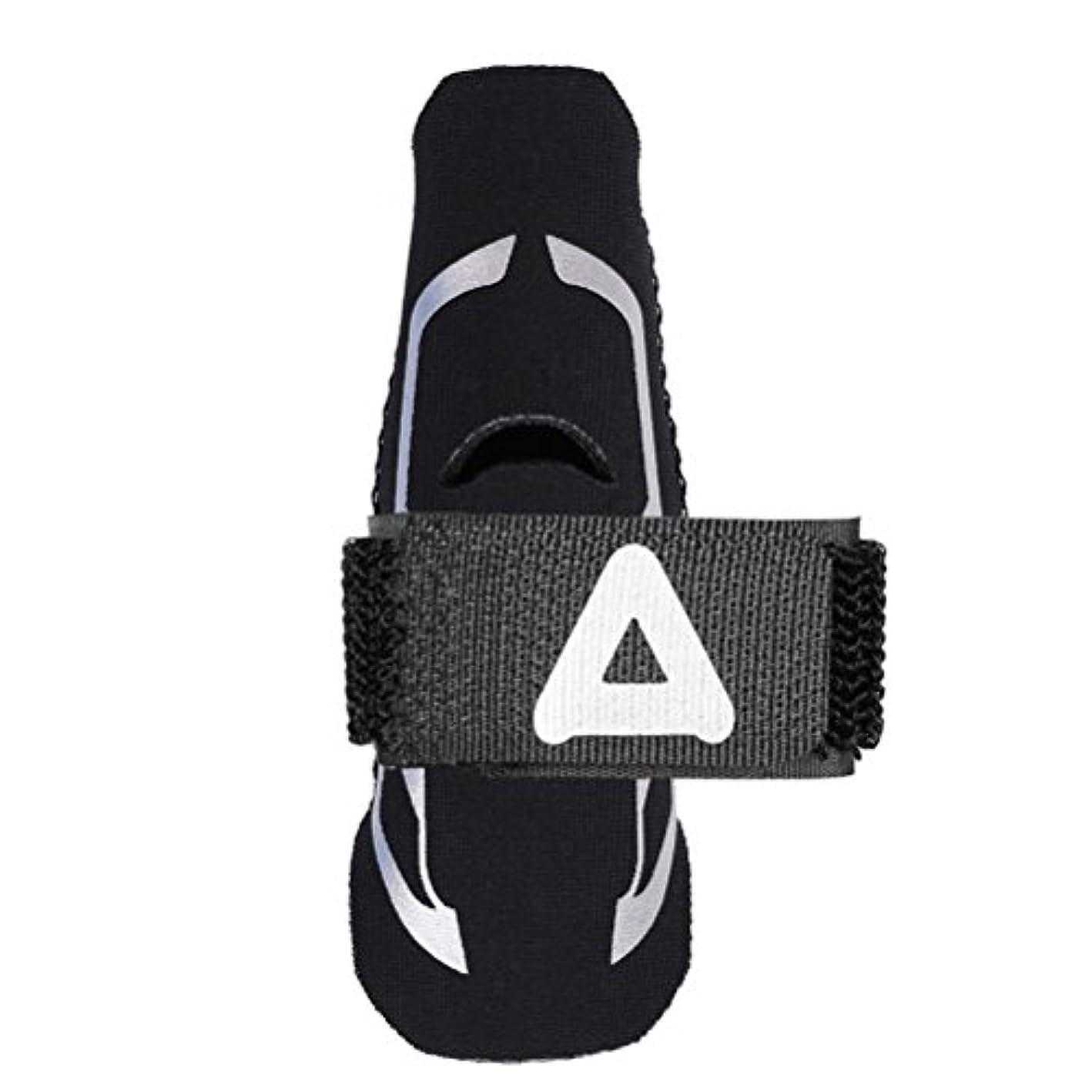 服を片付ける劇的アーティキュレーションSUPVOX トリガーマレットフィンガーブレースフィンガースプリントサポート腱調整可能なストラップサイズS/Mで痛みを和らげる