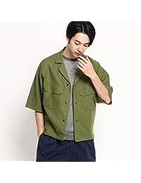 (ドレステリア) DRESSTERIOR 高密度開襟リネンシャツ 08684057
