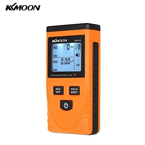 KKmoon デジタル電磁検出器 電磁波測定器 線量計 検出器メーター【並行輸入品】