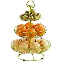 3枚の多彩なフルーツプレートへのホームフルーツプレートフルーツプレート鉄