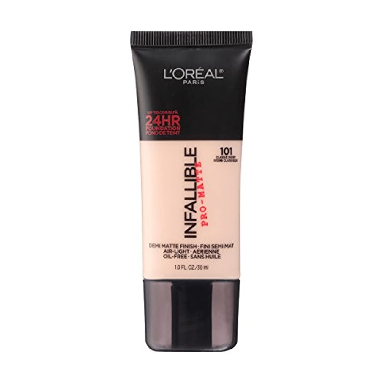 (3 Pack) L'OREAL Infallible Pro-Matte Foundation - Classic Ivory (並行輸入品)