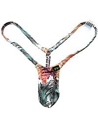 メンズ ウルトラ マイクロビキニ ジャングルフラワー Tバック (1001044)BODYWEAR/ボディウェアー