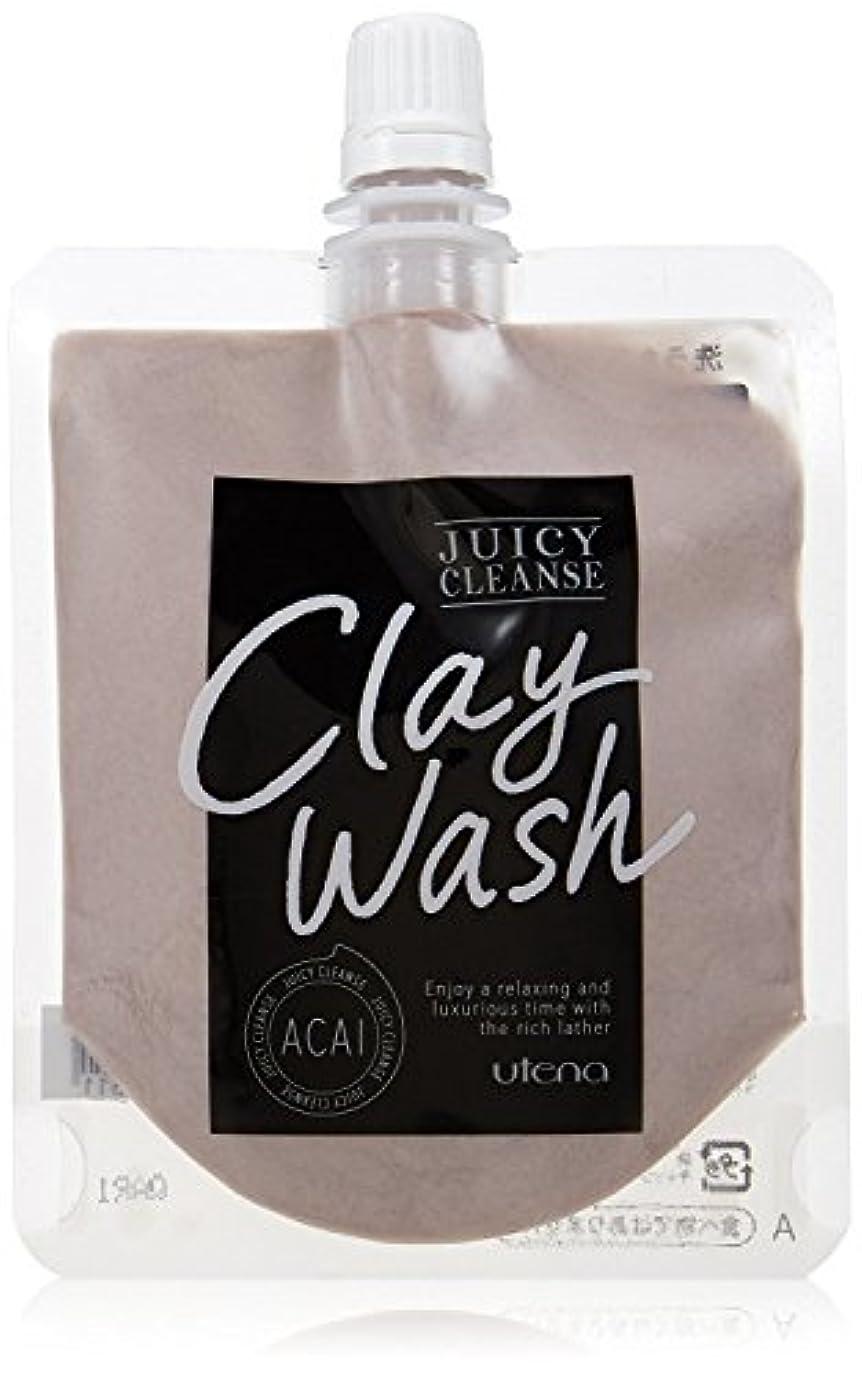 スライム火傷移民JUICY CLEANSE(ジューシィクレンズ) クレイウォッシュ アサイー 110g